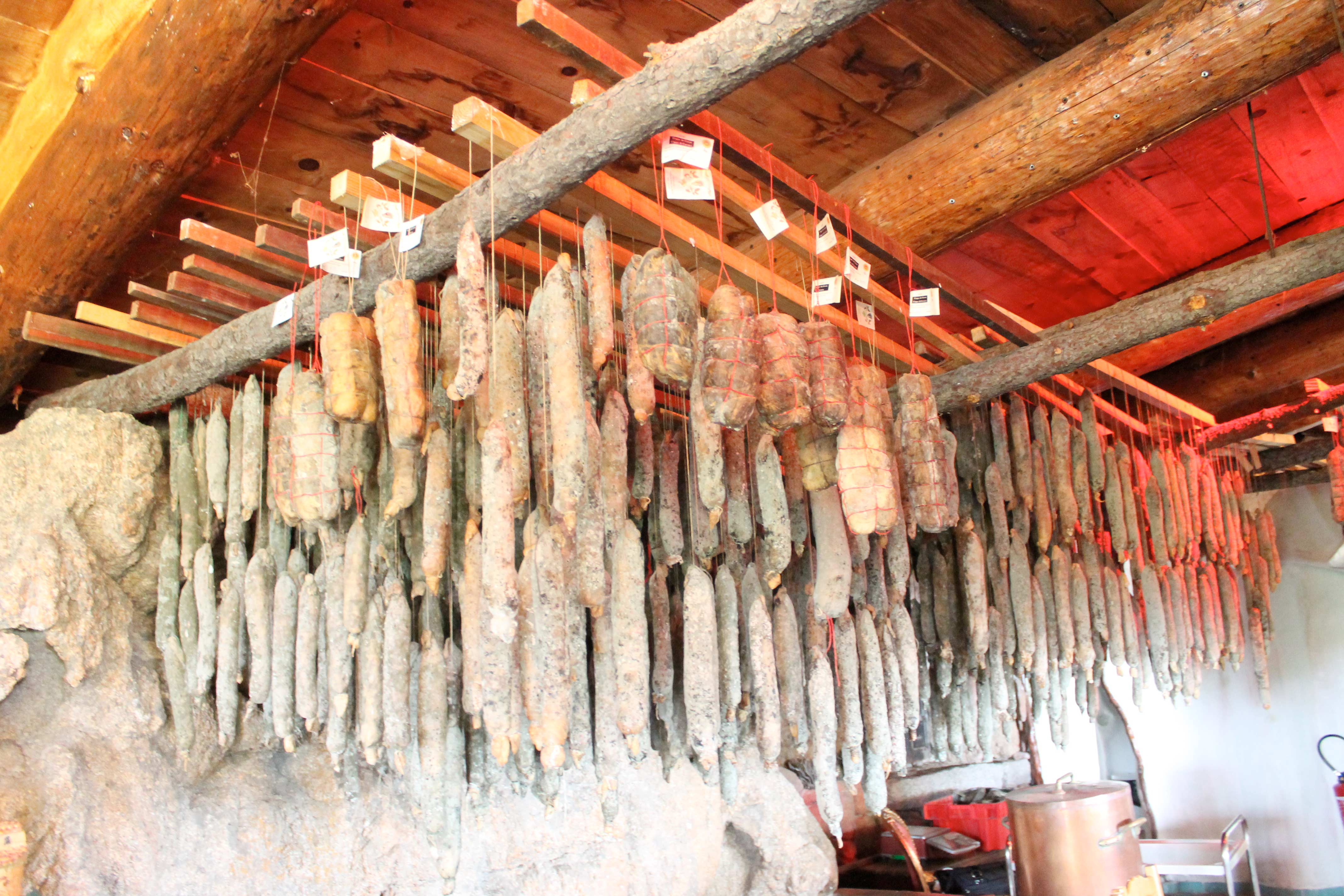 Corsica wine tour, cured meat workshop