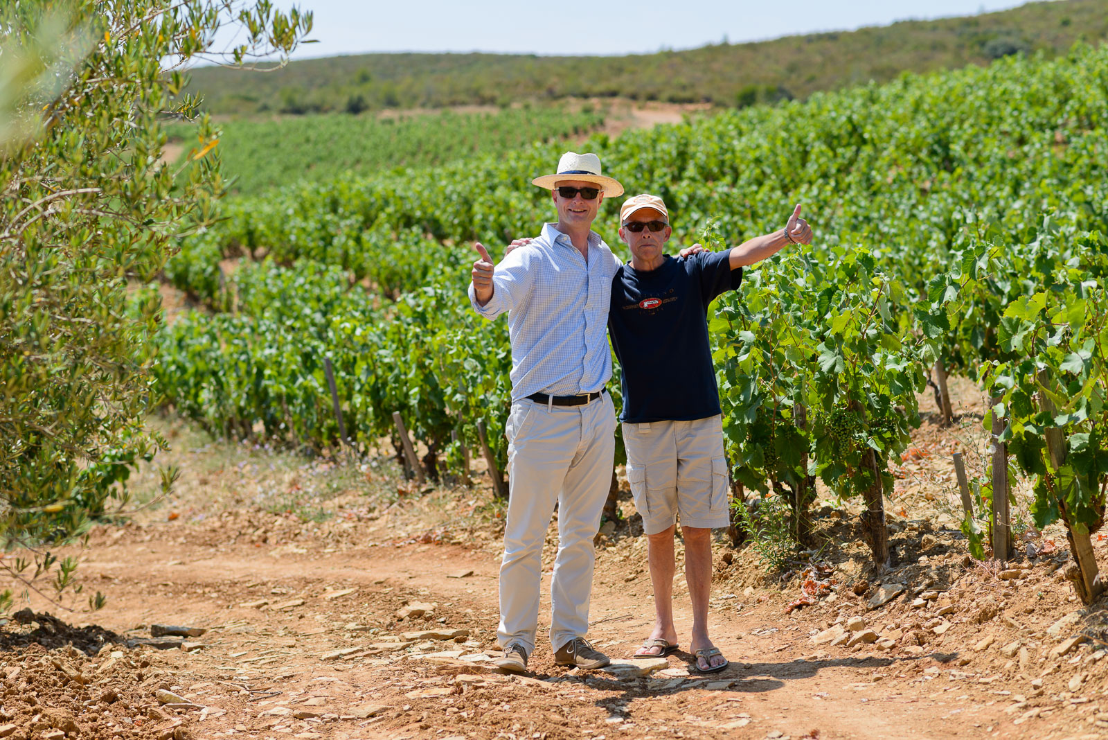 Bandol and Cassis wine tour, Brice with customer