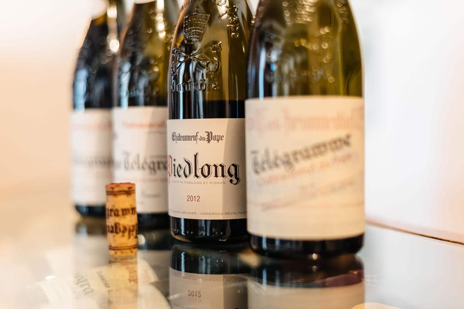 Châteauneuf du Pape wine tour, tasting four different wines