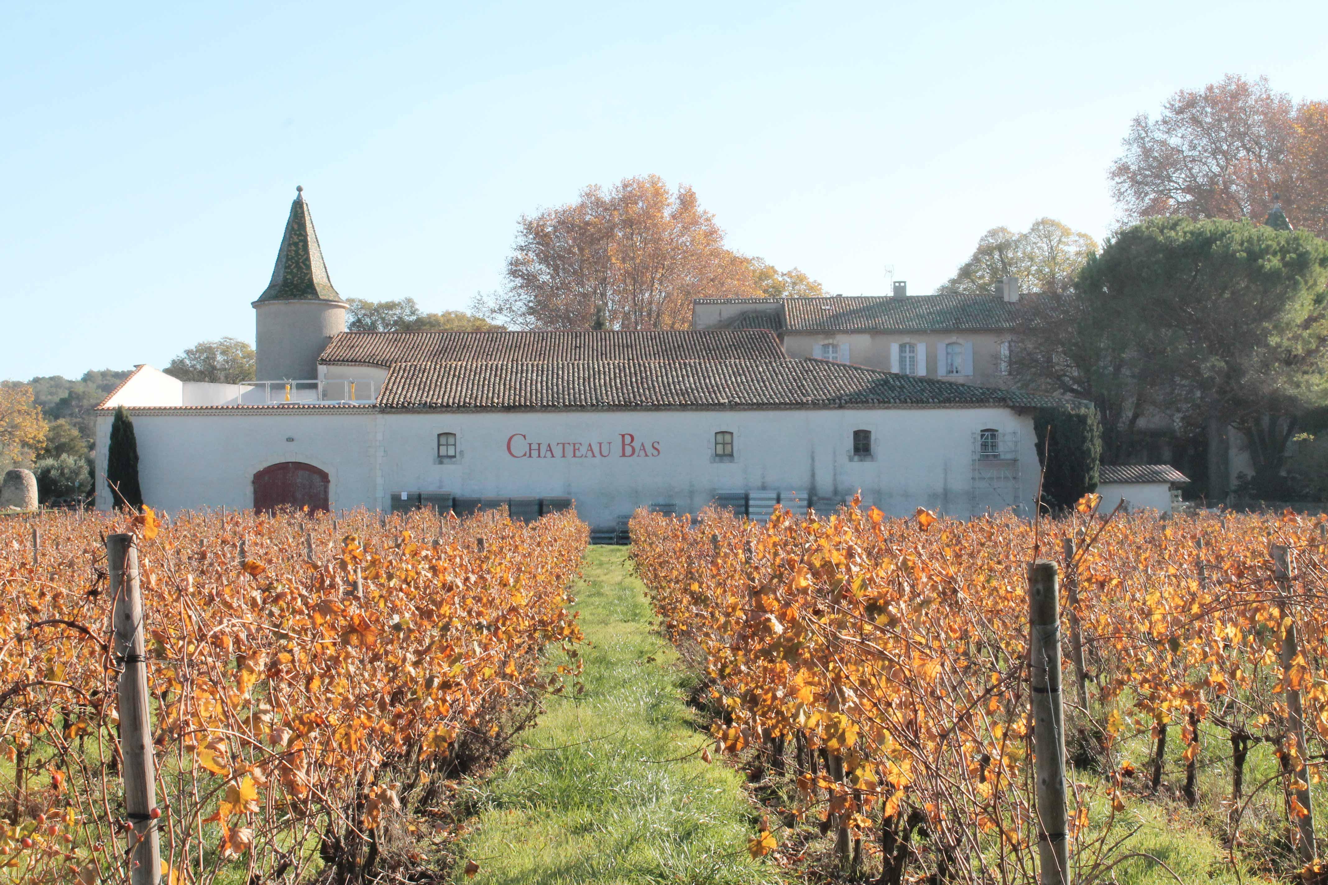 Aix en Provence wine tour, Château Bas