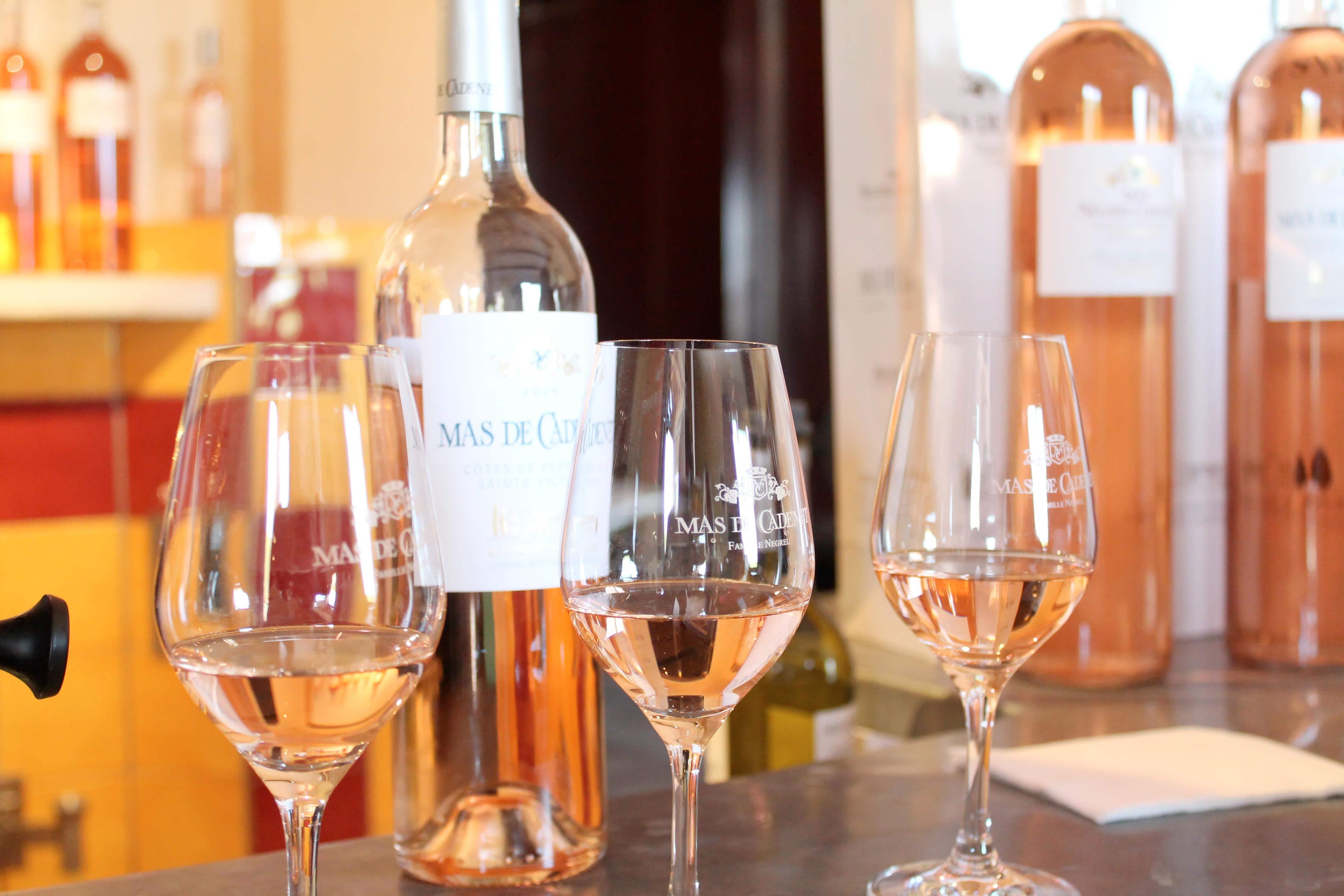 Aix en Provence wine tour, rosé tasting