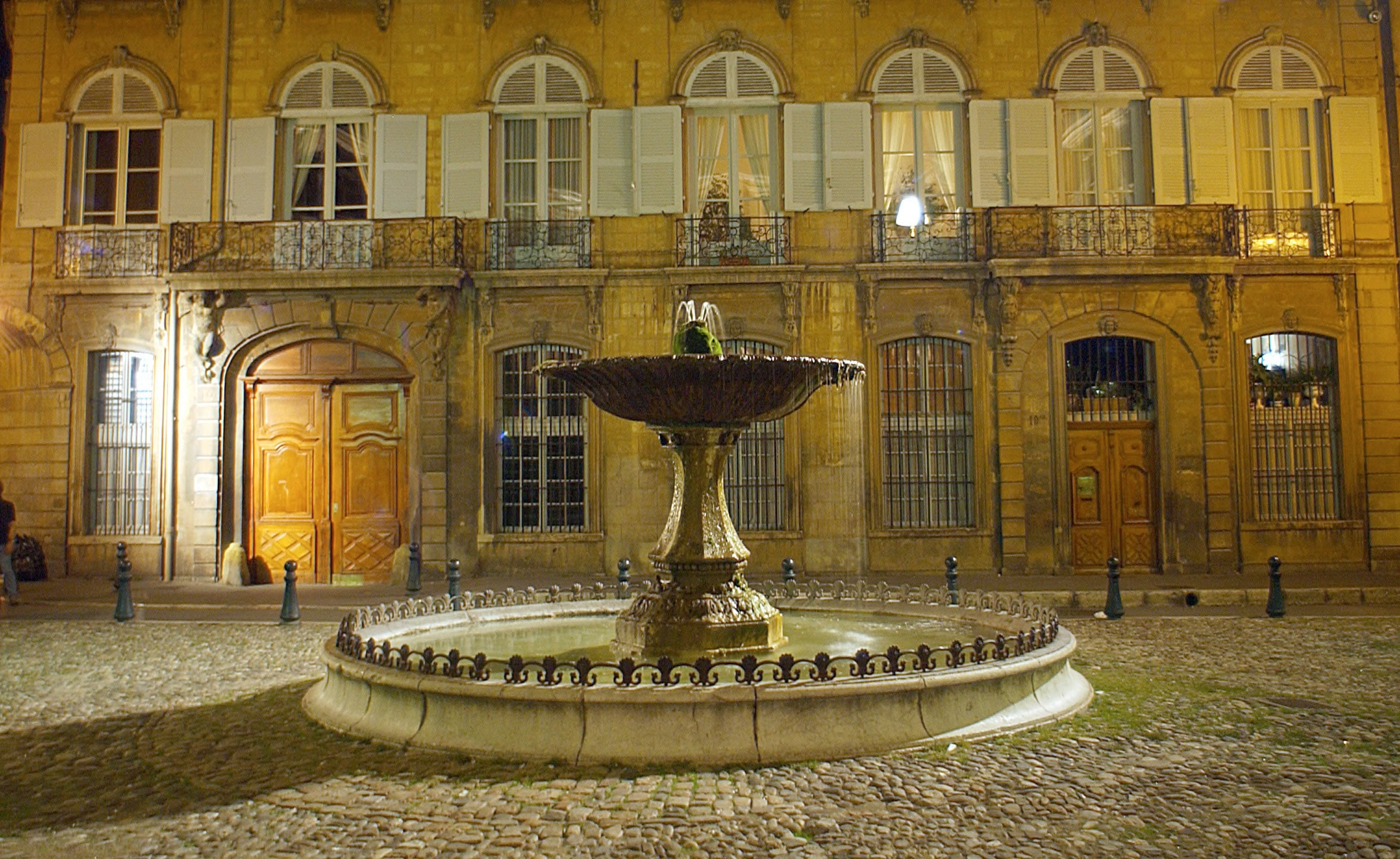 Aix en Provence Fontaine d'Albertas
