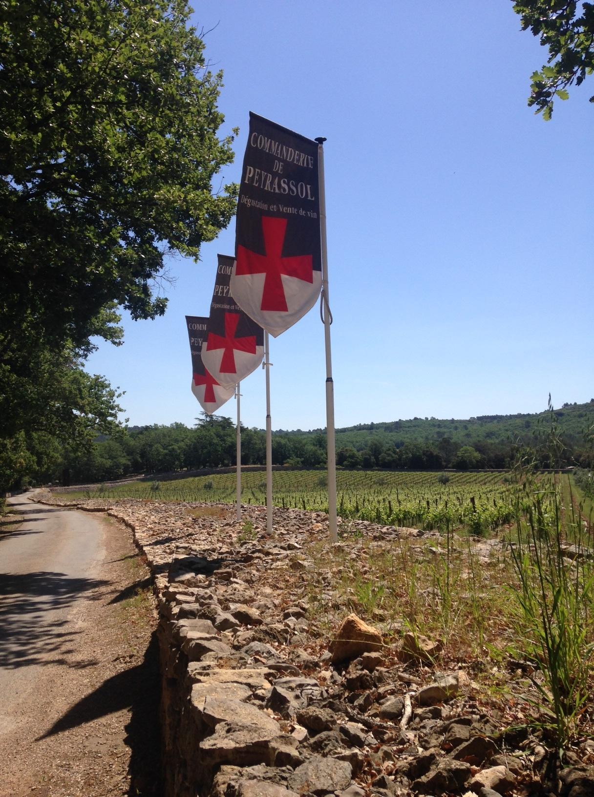 Provence wine tour, Commanderie de Peyrassol Draguignan