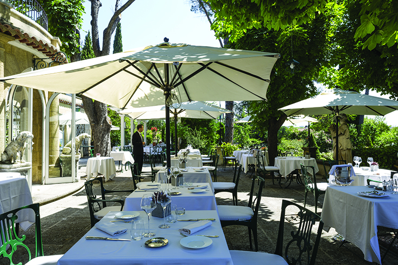 "Provence wine tour, ""La table de Pigonnet"" restaurant, Aix en Provencee"