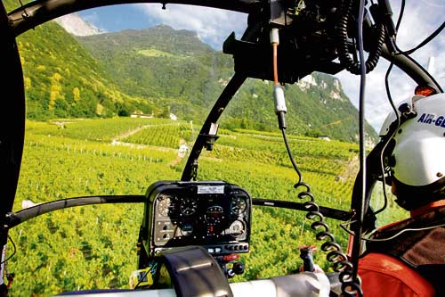 French Riviera wine tour by helicopter