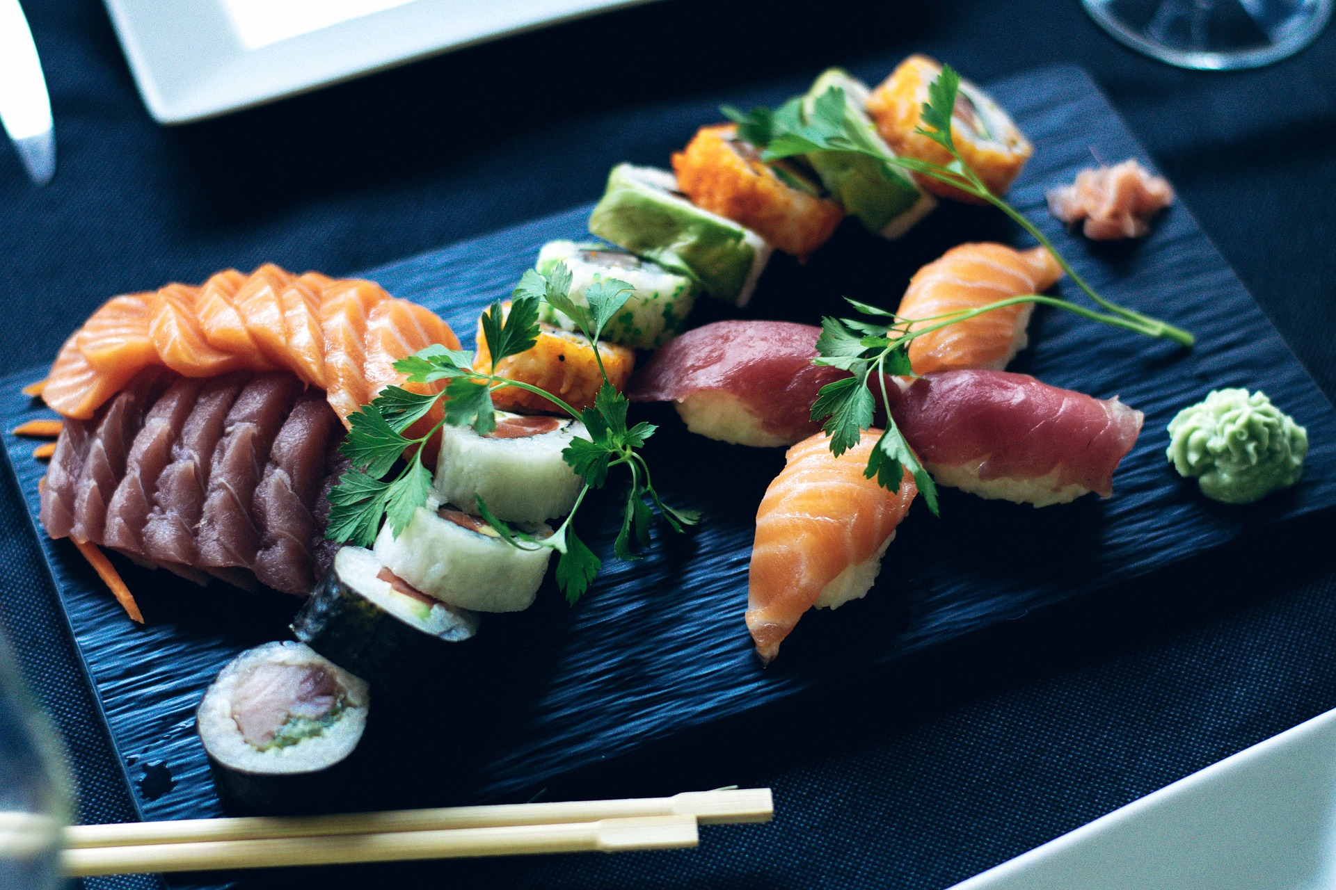 The ideal pair: sushi and wine